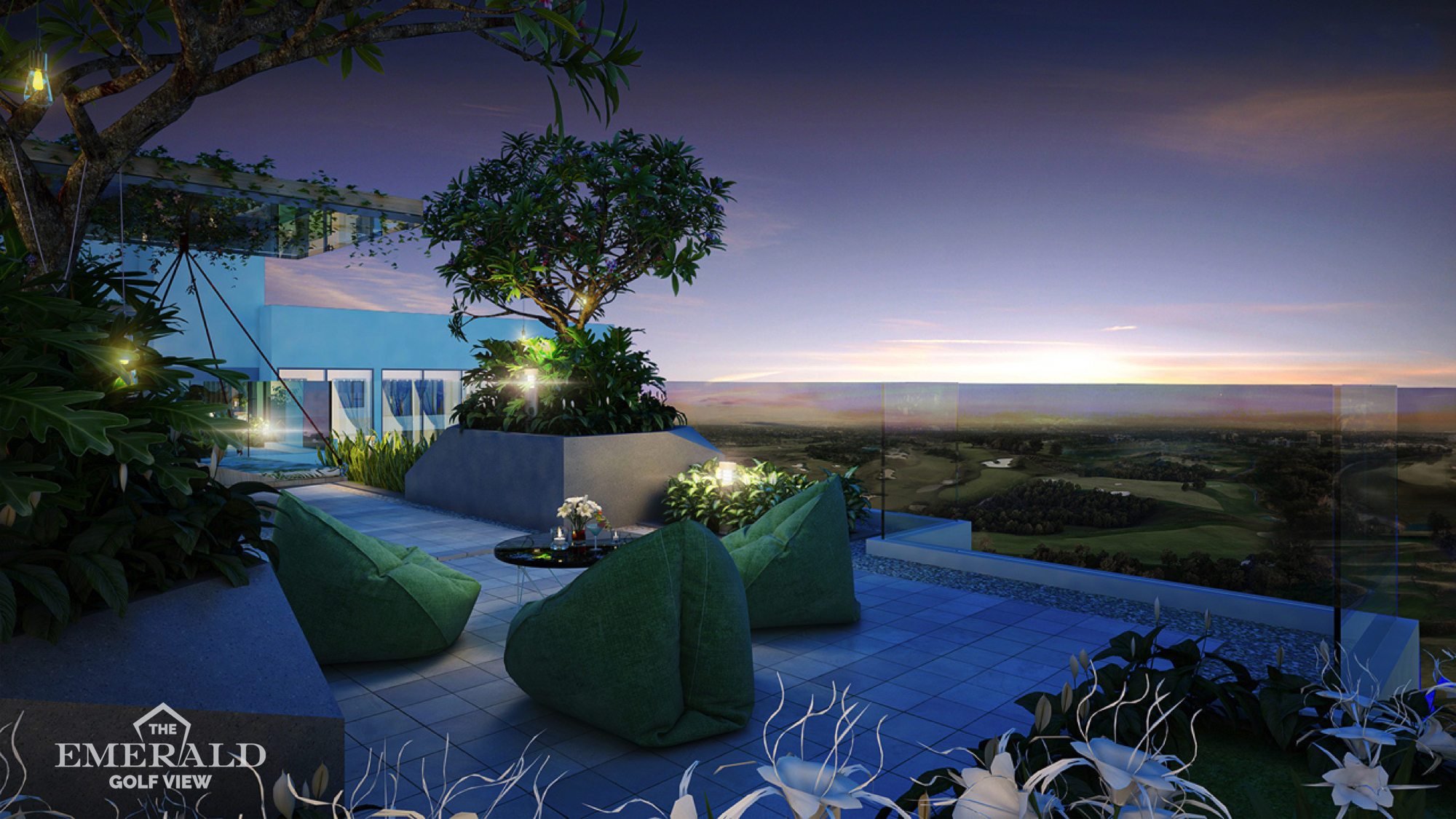 PAY 30% IN ADVANCE TO OWN THE EMERALD GOLF VIEW APARTMENT