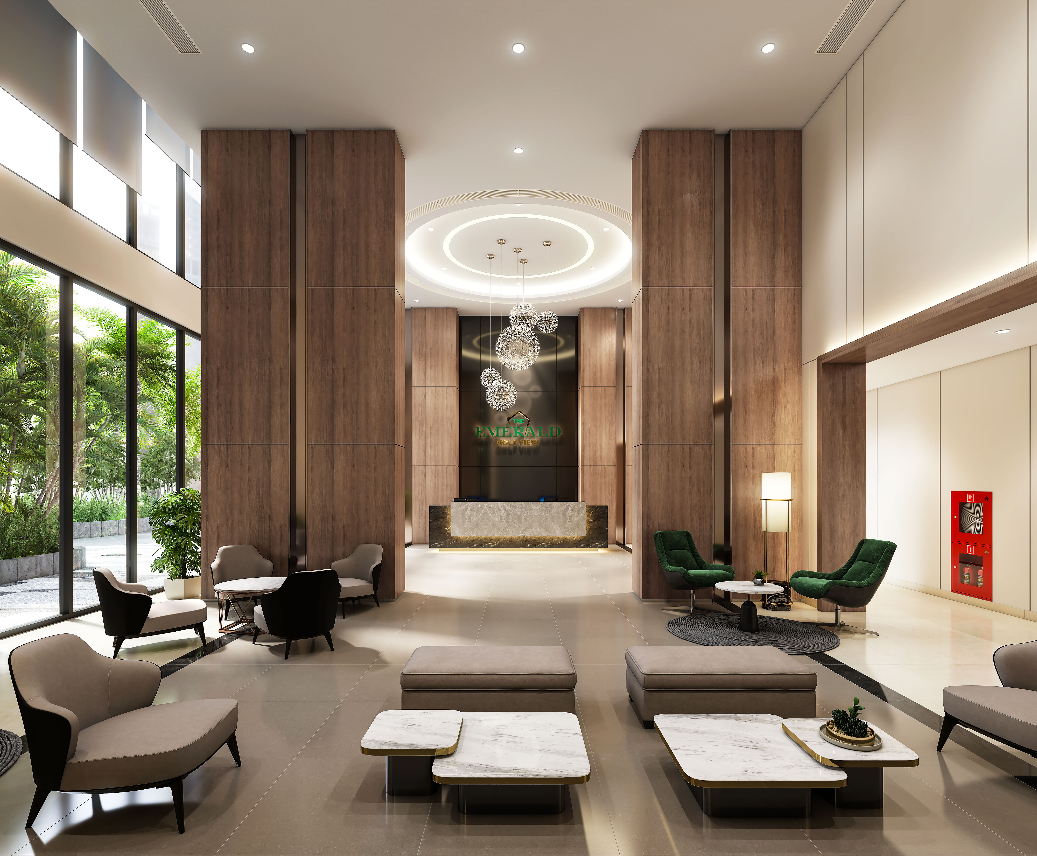 THE EMERALD GOLF VIEW HIGH-CLASS APARTMENTS FOR EXPERTS