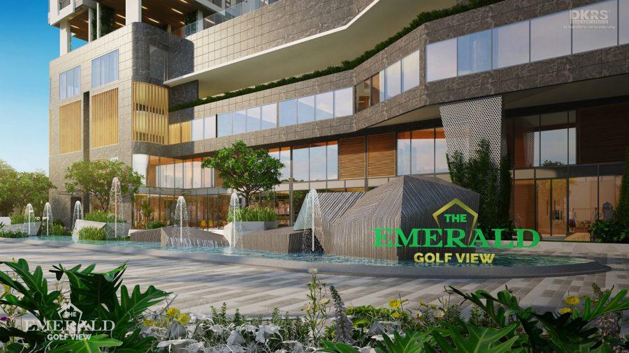 Cập nhật tiến độ thi công dự án The Emerald Golf View 26/07/2021