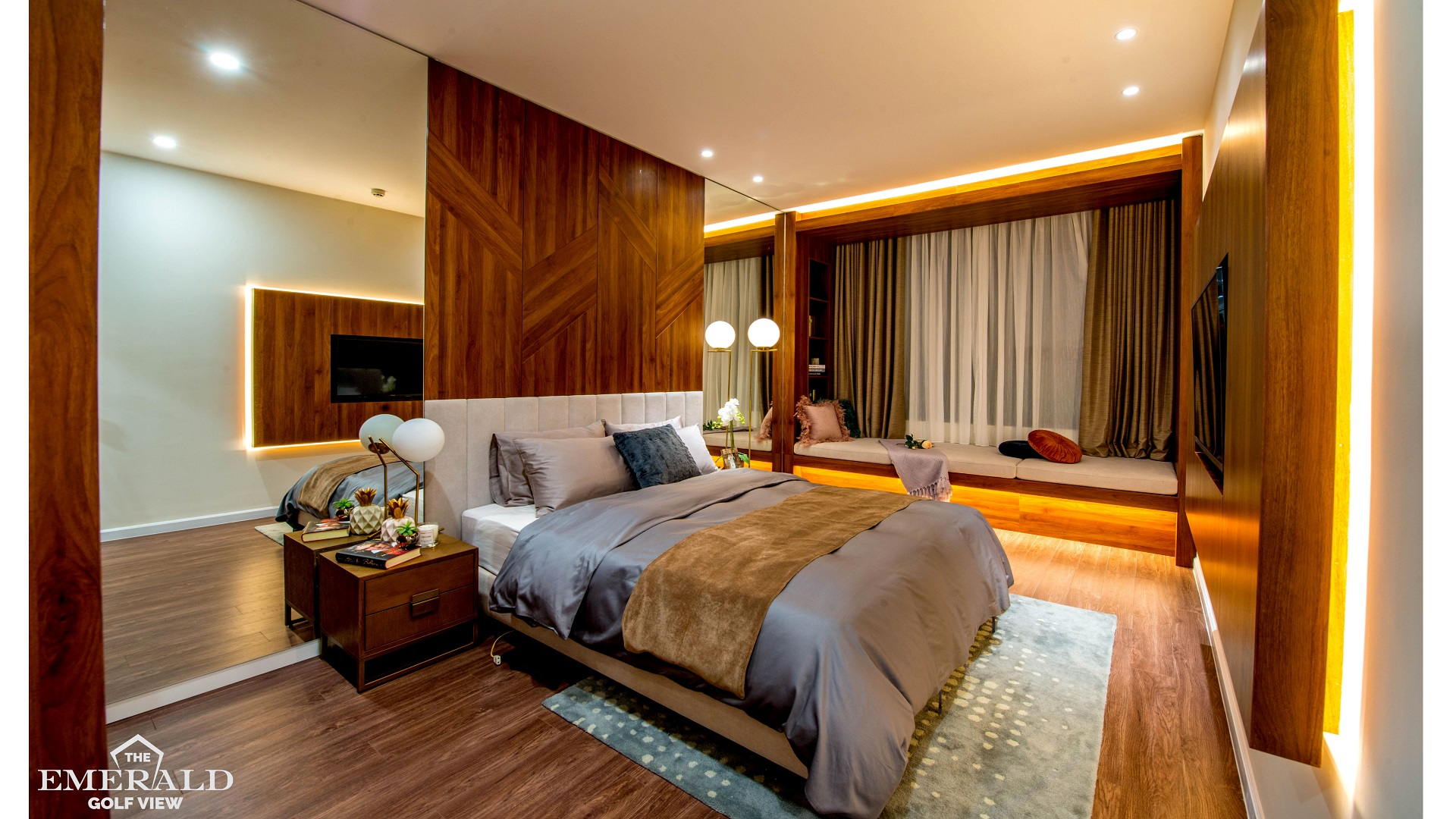3 BEDROOMS MODEL APARTMENT